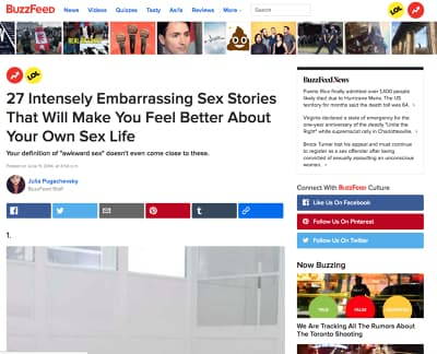 The Best Embarrassing Sex Stories | AdultHookUps.com