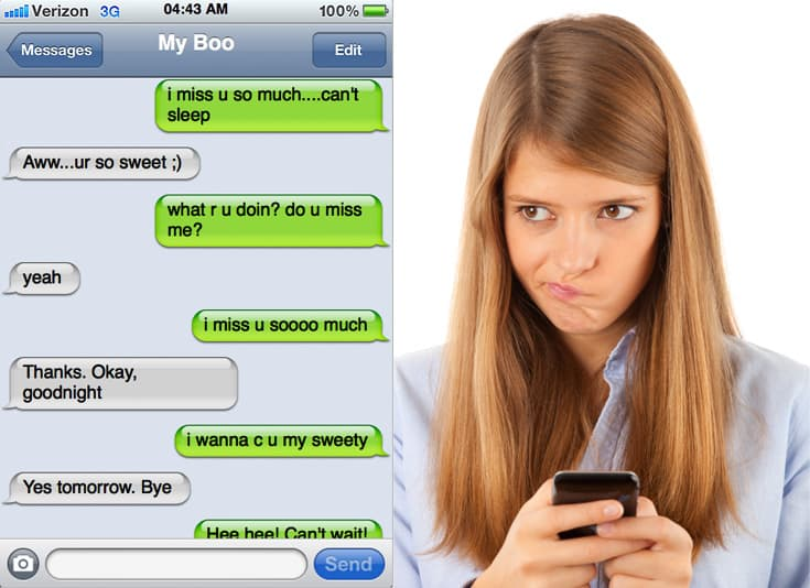 How To Send A Guy The Perfect Text At The Perfect Time - AdultHookups